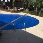 A round shaped swimming pool