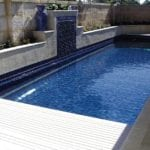 A small swimming pool