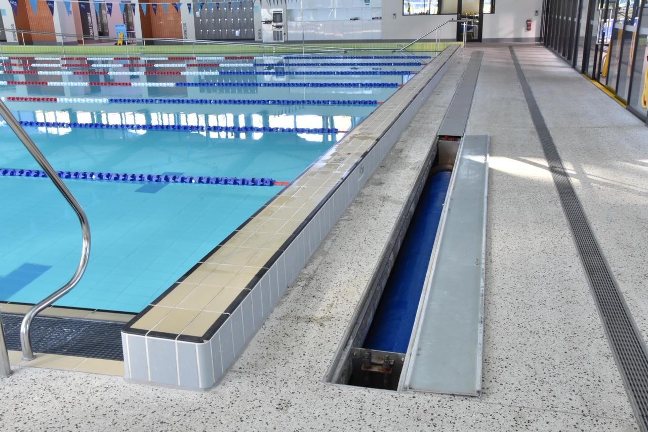Armadale aquatic centre –Commercial Hideaway system